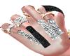 @VERSACE DIAMONDS NAILS