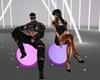 Neon Club Chair Balls