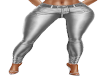 Pants Silver Leather
