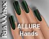 Hunter Green Nails
