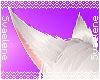 White Kitsune Ears