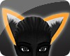 {s} Neon Orange Ears