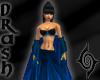 Mistress Shawl - Blue