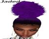 Purple Afro Ponytail