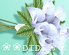 !D! Wedding Bouquet Blue