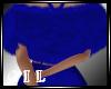 !C! SEXY BLUE BACK FUR