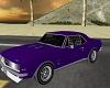 Purple '69 Camaro SS