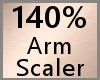 Arm Scaler 140% F A