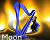 Blue Crystal Harp