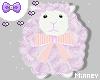 ♡ Pastel babe sheep