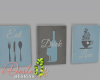 ID: Akoya kitchen signs