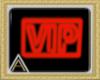 (AL)Red Neon VIP sign
