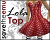 [E] LolaTubeChicDressTOP