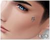 """""""タ"""" Face Tattoo"""