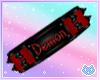 Red Demon Collar