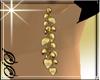 !SS Golden Hearts Earing