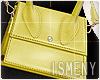 [Is] Mini Bag S - Yellow