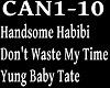 HANDSOME - DON'T WASTE