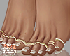 Leo feet + rings