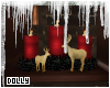 D* Merry Candle Deco