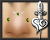 {>Limelight Nose Pierce
