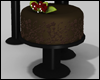 Black Base Cake