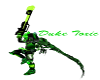 green flash spike boots