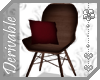 ~AK~ Wooden Bucket Chair