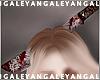 A) Bloody head machete