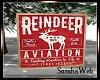 Reindeer Aviation Art