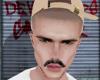 SKIN, mustache.