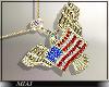 !M! USA necklace