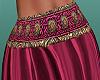 summer silk skirt