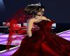 ~TQ~red wedding veil