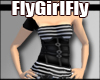 [Fly] Striped Corset