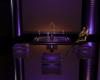 Purple elec Club Table::