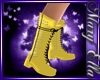 Yellow Spike Boots