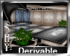 Derivable Waterfall Room