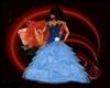 NK blue dress