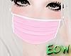 Kawaii pink mask