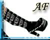 [AF]Black Stud Boots