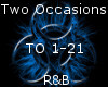 Two Occasions -R&B-