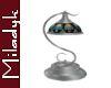 MLK Silver  Scroll Lamp