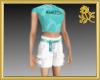 Aqua NOOB Full Outfit