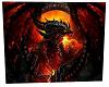 Red Dragon Rug