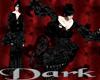 DARK Goth Vampire Kimono