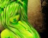 Candy Green Hair