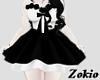 MagicRose dress ||Black