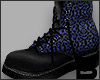 Roawr Boots Blue Black