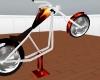 *Ah flamebike on stand